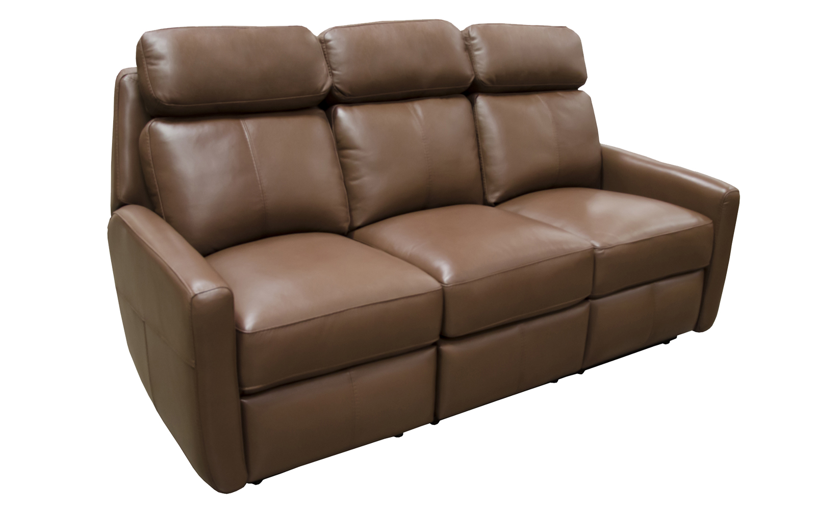 Riverside Drive Reclining Sofa Arizona Leather Interiors