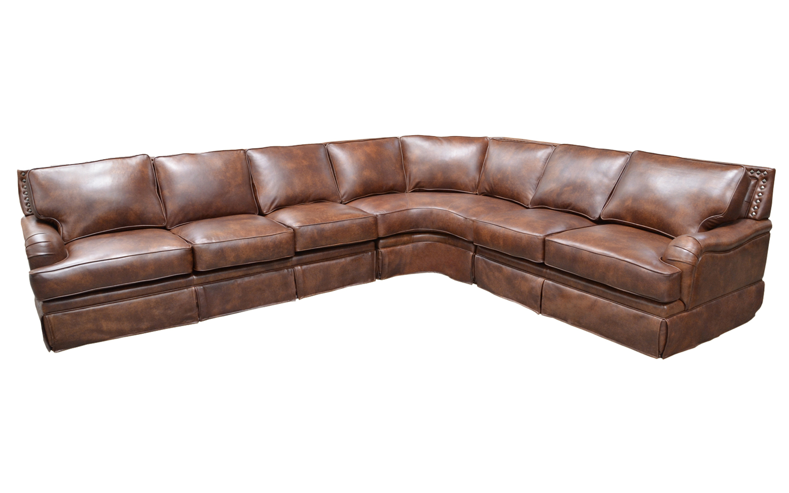 Hacienda Sectional Arizona Leather Interiors