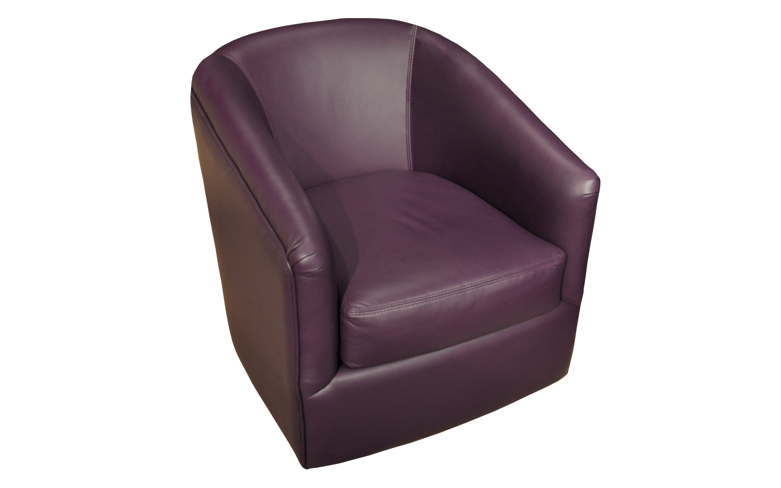 Perfect Accent Chair Purple Painting