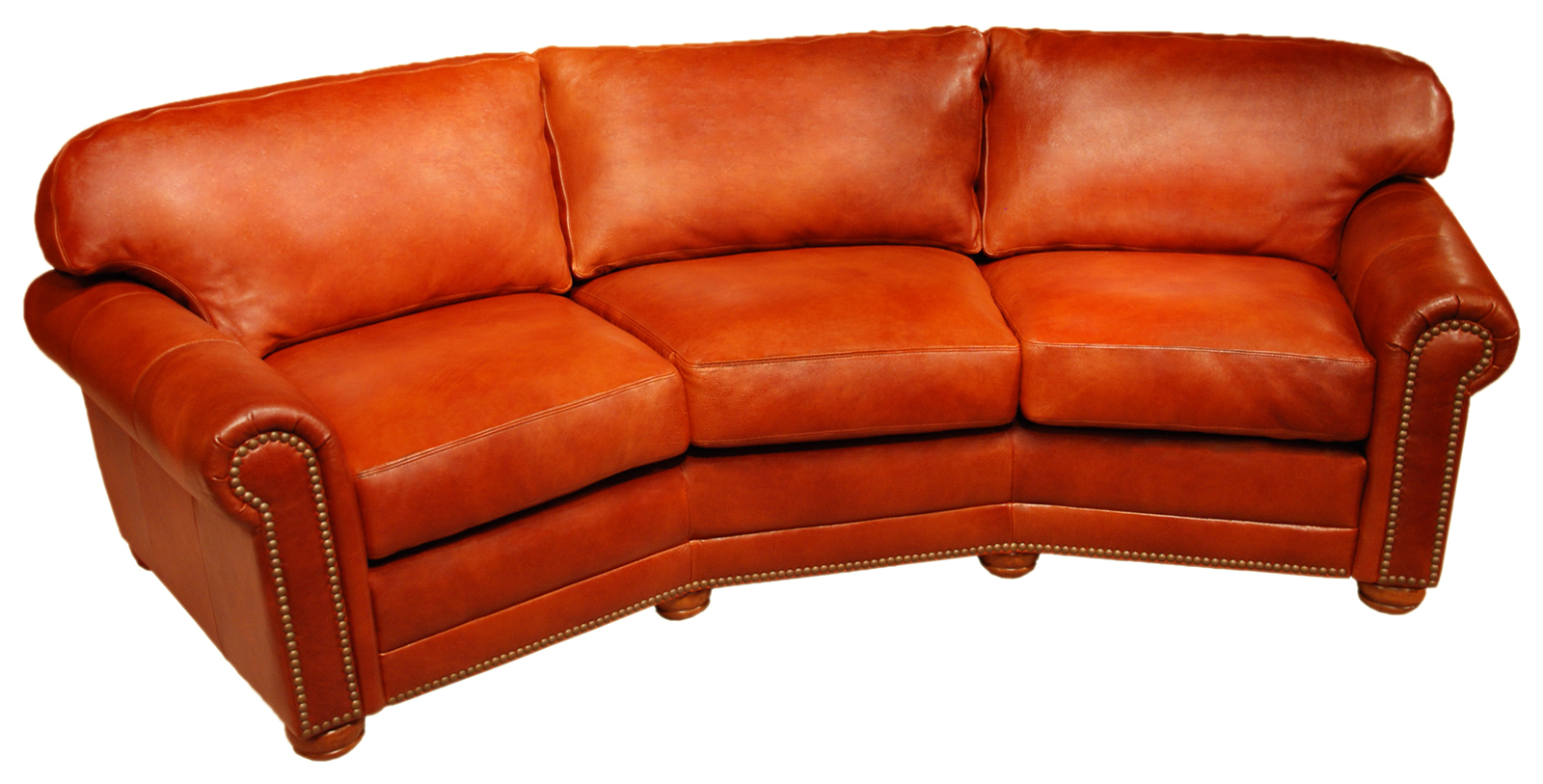 Dominion 3 seat conversation sofa arizona leather interiors for Conversation sofa