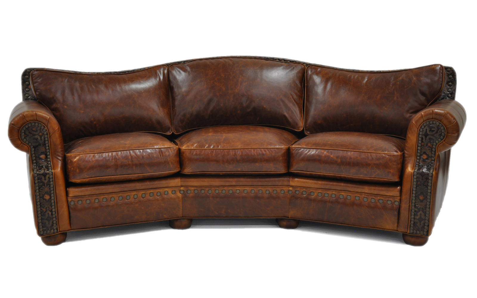 Laredo conversation sofa arizona leather interiors for Conversation sofa