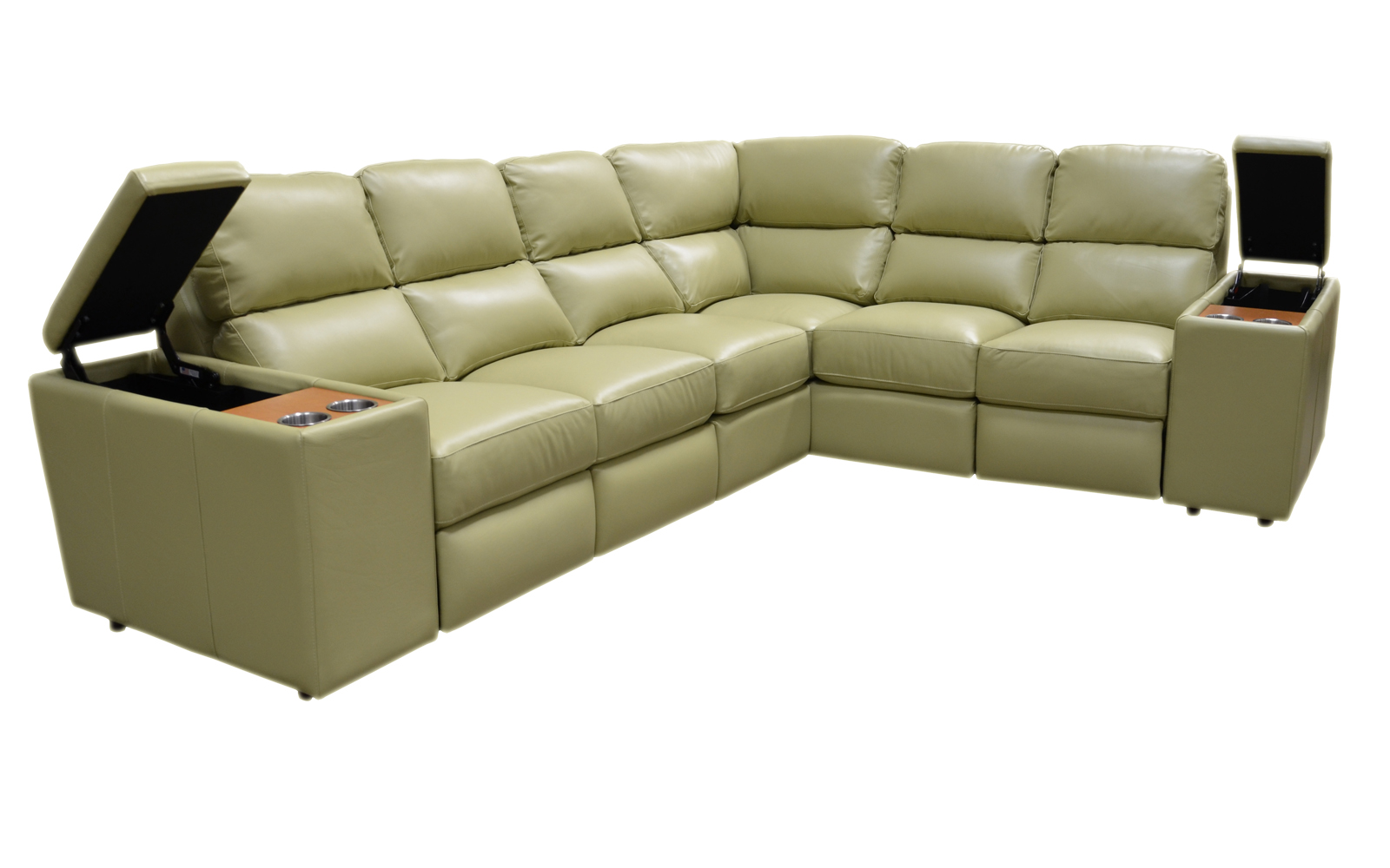 Lawrence Sectional Arizona Leather Interiors